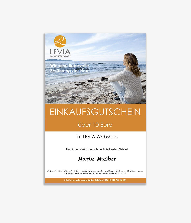 bc84569a8c Gutschein 10 € | LEVIA
